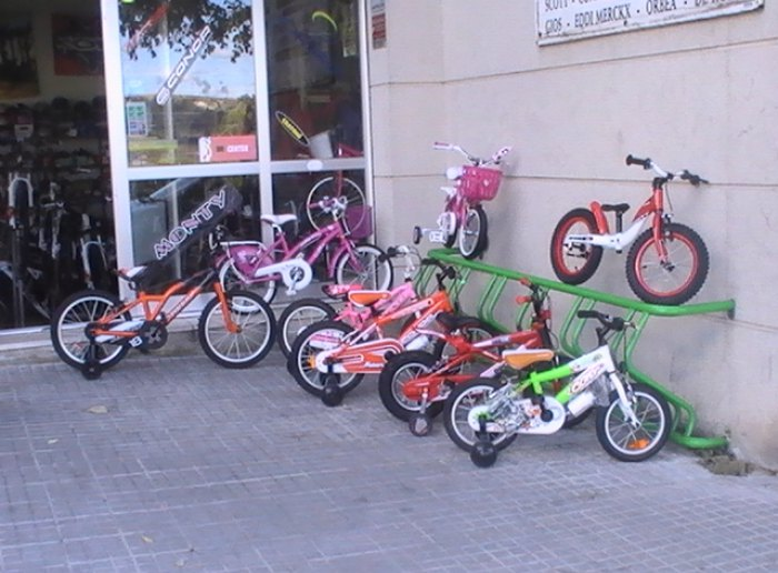 Bicicletes a Vilafranca