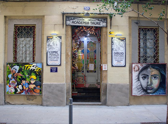 Acadèmia de dibuix i pintura a Gràcia