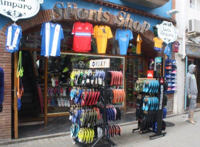 Botiga esports a Calafell