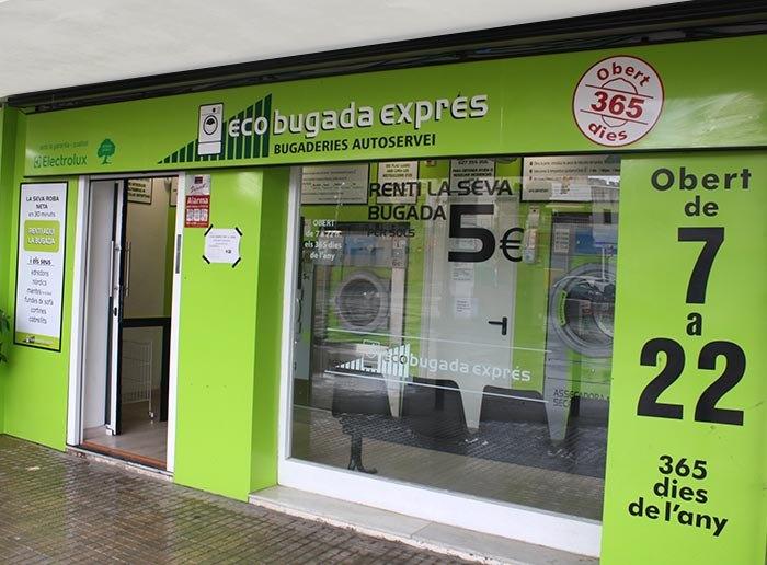 Lavandería autoservicio en Cubelles, ECOBUGADA EXPÉS CUBELLES