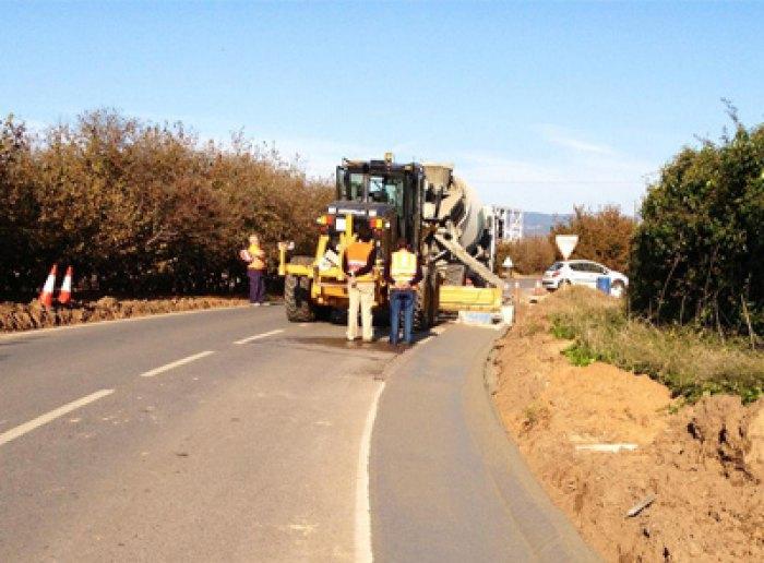 Excavacions, moviment de terres, Solsona