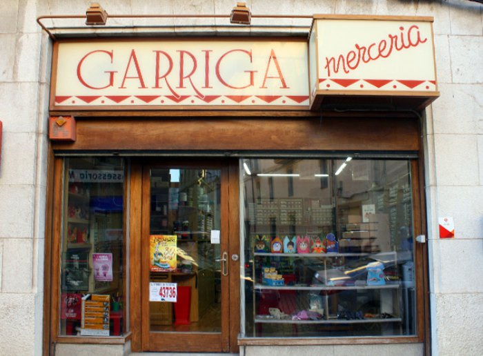 Merceria a Figueres