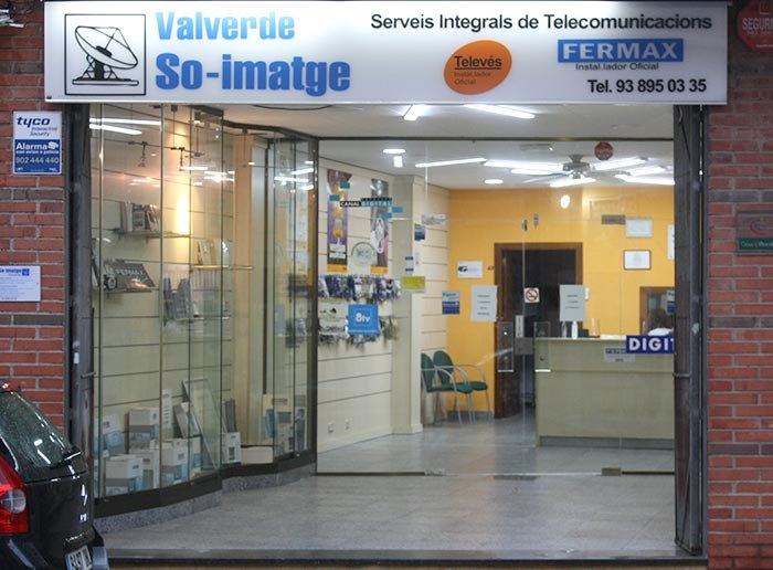 Telecomunicacions a Cubelles, So-imatge Valverde